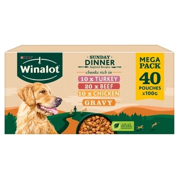 Winalot Sunday Dinner Dog Food Pouches