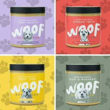 Woof Natural Peanut Butter For Dogs
