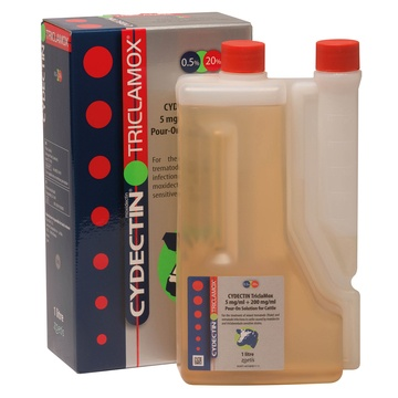 Zoetis Cydectin Triclamox Pour-On for Cattle