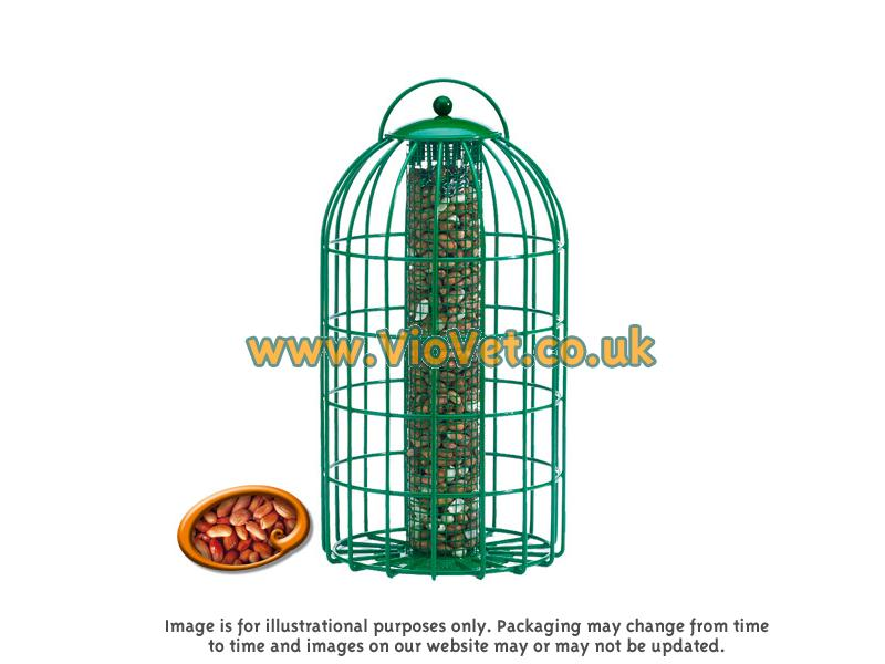 The Nuttery Squirrel Proof Green Original Nut Feeder