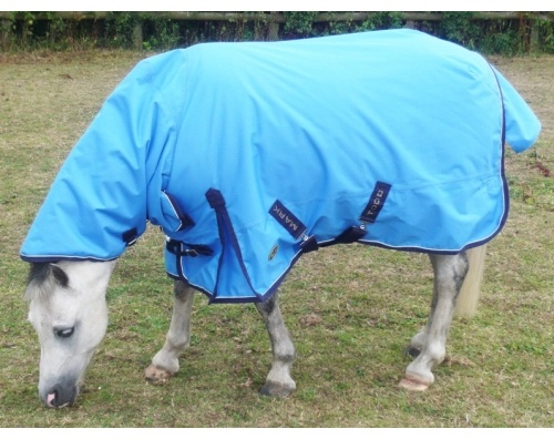 MARK TODD FOAL TURNOUT RUG NAVY