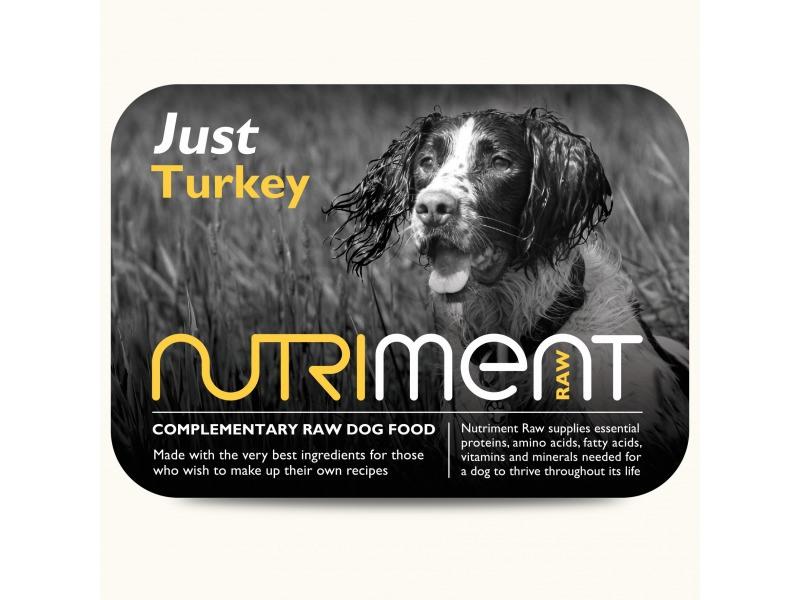 Nutriment Just Raw Dog Food | VioVet.co.uk | FREE delivery ...