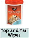 Mikki Top And Tail Wipes Small