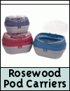 Rosewood Pod Small Animal Carriers