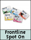 Frontline Spot On Pipettes for Dogs & Cats