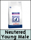 Royal Canin Feline Vet Care Nutrition Neutered Young Male Cat Food