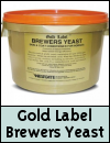 Gold Label Brewers Yeast for Horses