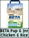 Purina Beta » Puppy & Junior Chicken & Rice