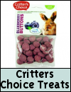 Critters Choice Treats for Small Animals