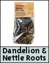 Boredom Breaker Treats » Dandelion & Nettle Roots