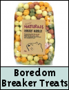 Boredom Breaker Natural Treats for Small Animals
