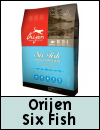 Orijen Six Fish Whole Prey Dog Food