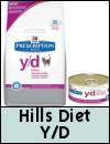 Hills Prescription Diet Y/D Cat Food