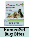 HomeoPet Bug Bites Homeopathic Remedy