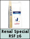 Royal Canin Feline Veterinary Diets Renal Special RSF 26 Cat Food