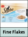 Sheba Fine Flakes Pouches Cat Food
