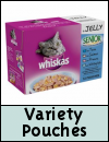 Whiskas Senior Multipack Variety Pouches Cat Food