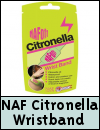 NAF Off Citronella Wristband