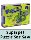 Superpet Critter Puzzle See Saw for Small Animals