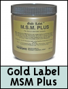 Gold Label MSM Plus for Horses