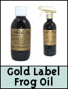 Gold Label Frog Oil for Horses