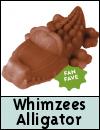 Whimzees Alligator Dental Dog Chew