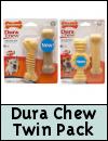 Nylabone Dura Chew Twin Pack Dog Chews