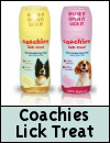 Coachies Lick Treat for Dogs