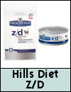 Hills Prescription Diet Z/D Cat Food