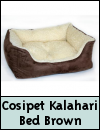 Cosipet Chelsea Kalahari Bed Brown