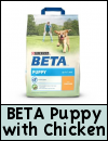 PURINA BETA Chicken & Rice Puppy & Junior Dog Food