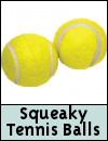 Jolly Doggy Squeaky Tennis Balls Dog Toys