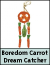 Boredom Breaker Carrot Dream Catcher Small Animal Toy