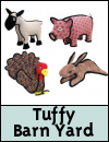 Tuffy Barn Yard Dog Toys