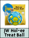 JW Pet Hol-ee Treat Ball Dog Toy