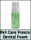 Groom Professional Pet Care Fresco Dental Foam for Dogs