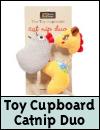 Danish Design Catnip Duo Cat Toys