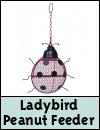 Supa Ladybird Wild Bird Peanut Feeder