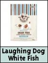 Laughing Dog Grain Free White Fish Dog Treats