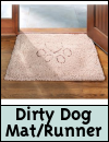 Dog Gone Smart Dirty Dog Doormat/Runner