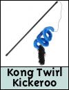 Kong Kickeroo Twirl Teaser Cat Toy