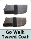 Go Walk Tweed Dog Coat
