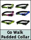 Go Walk Padded Adjustable Dog Collar