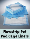 Flowstrip Pet Pad Cage Liners