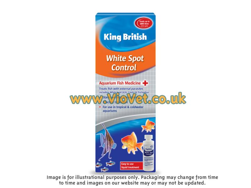Aquarium WhiteSpot Control » 100ml Bottle