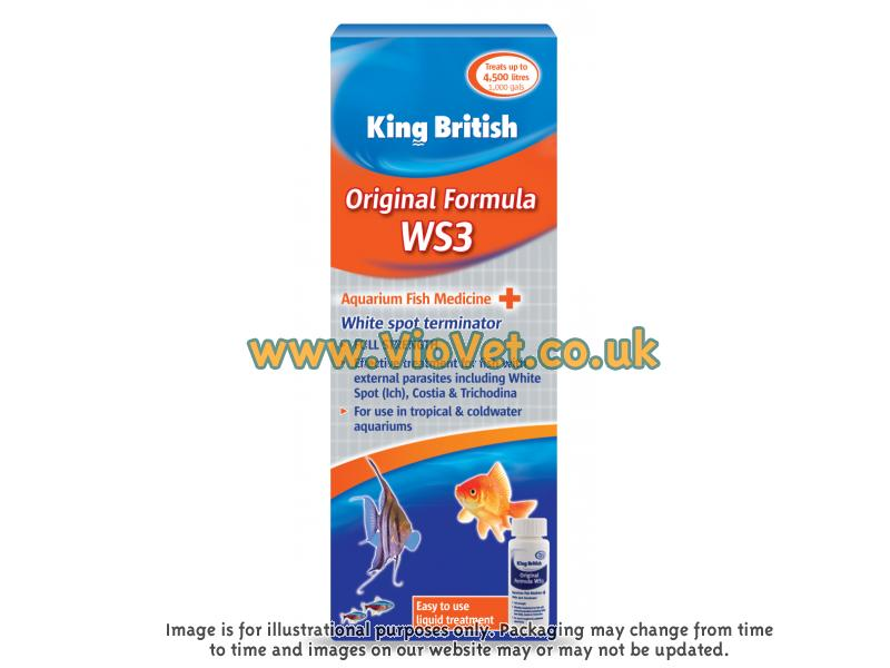King British Original Ws3 » 50ml Bottle