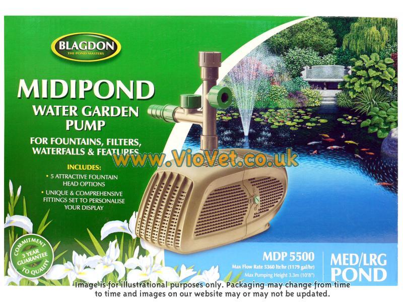 Interpet midipond blagdon midi pond water garden pump for Garden pond waders