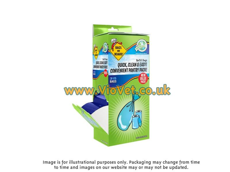 Refill Bags Blue » 315 Bags (21 Rolls)