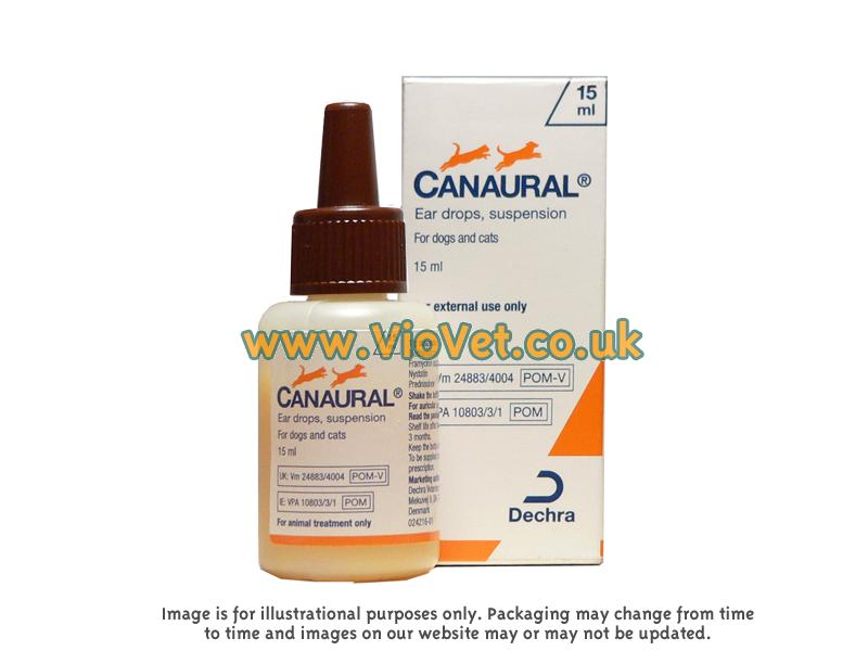 What Are Canaural Ear Drops For Dogs