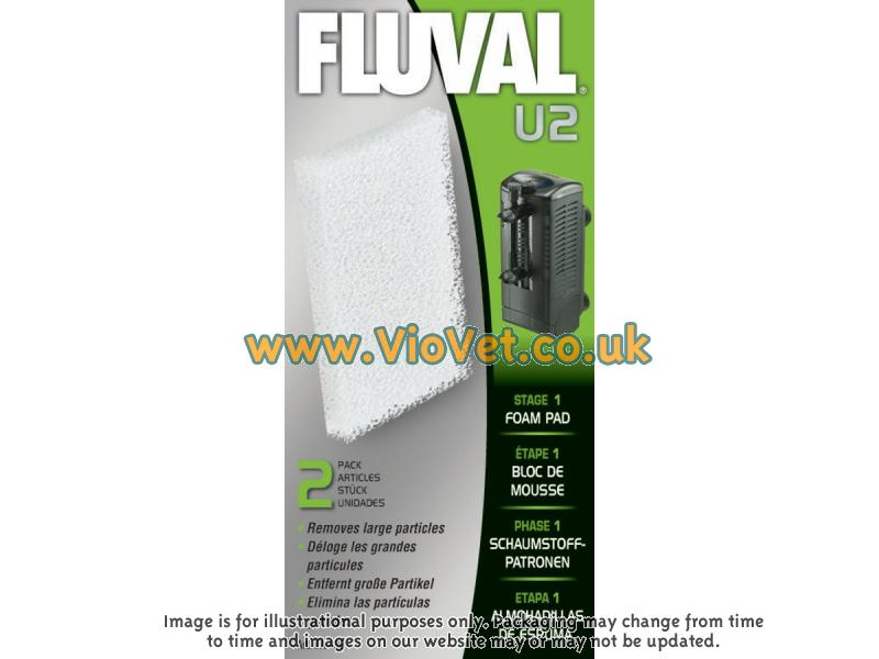 Fluval » U2 Filter Foam Pad (Pack of 2)